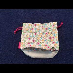 NEW! L'Occitane Small Cotton Cosmetics Pouch